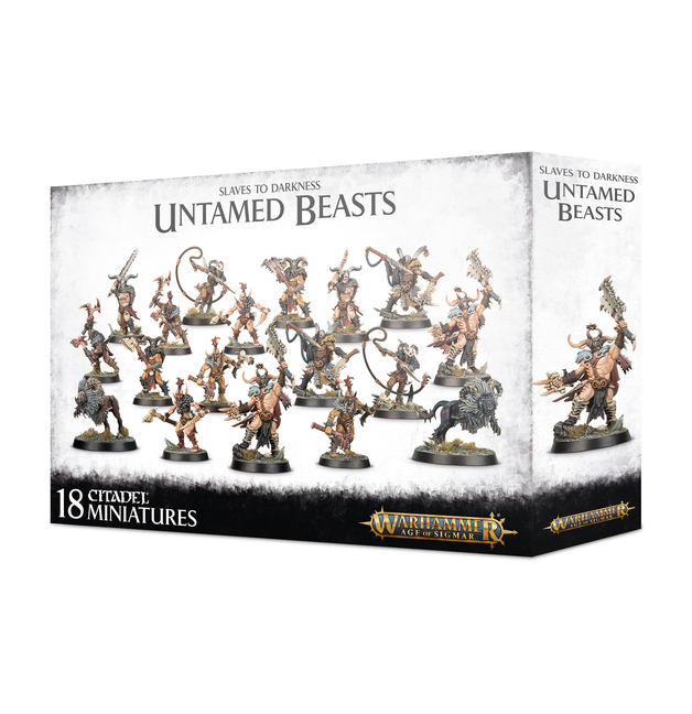 Warhammer Age of Sigmar Slaves To Darkness: Untamed Beasts