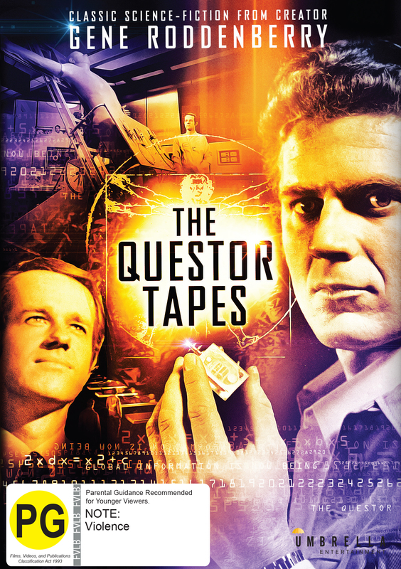 The Questor Tapes on DVD