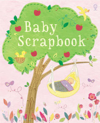 Baby Scrapbook: Girls by Katie Daynes image
