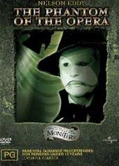 Phantom Of The Opera (b&w) on DVD