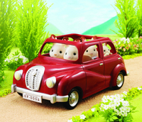 Sylvanian Families: Red Mini Family Car image