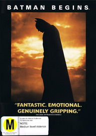 Batman Begins on DVD