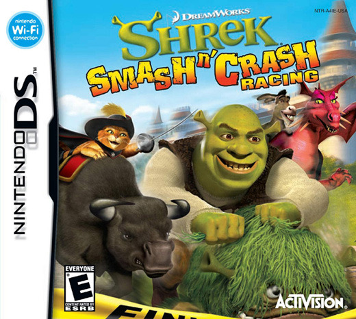 Shrek Smash 'n' Crash for Nintendo DS