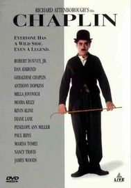 Chaplin on DVD image