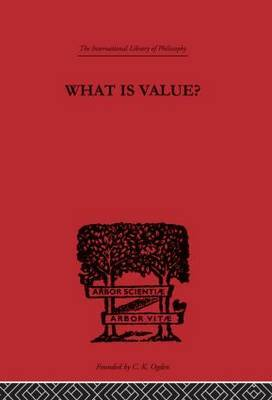 What is Value? by Everett W. Hall image