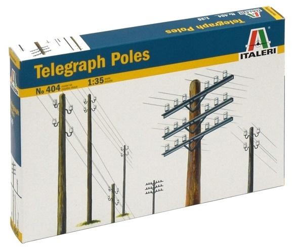 Italeri: 1:35 Telegraph Poles - Diorama Accessories image
