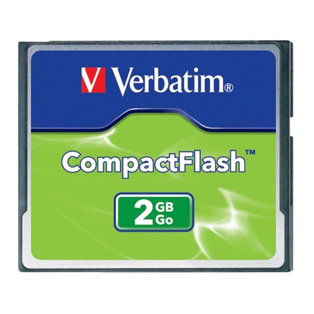 Verbatim CompactFlash Card - 2GB