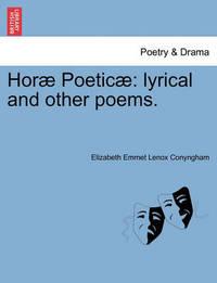 Hor Poetic by Elizabeth Emmet Lenox Conyngham
