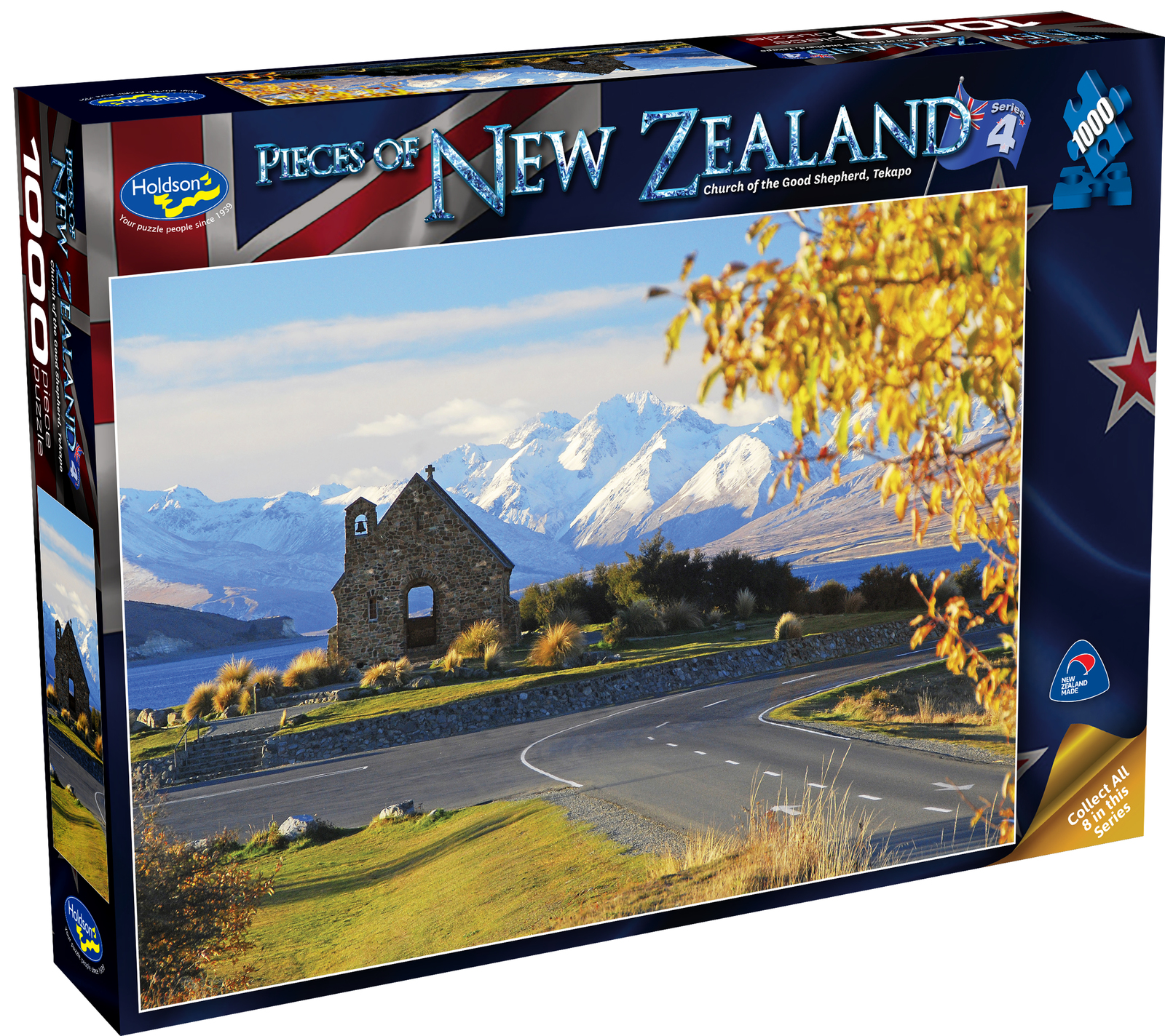 Holdson: Pieces of New Zealand - Series 4 - Church of the Good Shepherd Tekapo - 1000 Piece Puzzle image