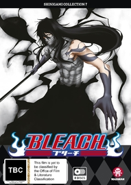 Bleach Shinigami - Collection 07 (Eps 268-316) on DVD