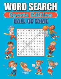 Sports Hall of Fame Word Search by Greater Heights Publishing image