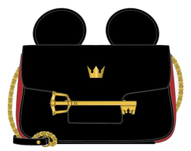 Loungefly: Kingdom Hearts Crossbody Bag - Mickey Key