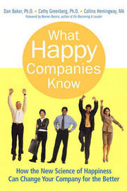 What Happy Companies Know by Dan Baker image