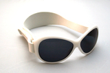 Baby Banz Retro Sunglasses (Cool White)