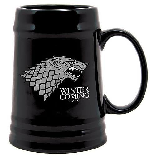 Game of Thrones Stark Sigil Ceramic Stein