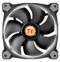 120mm ThermalTake Riing 12 Radiator Fan - White LED