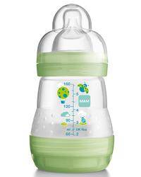 MAM Anticolic Feeding Bottle 160ml - Single (Green)