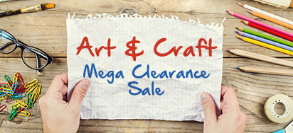 Art & Craft Clearout