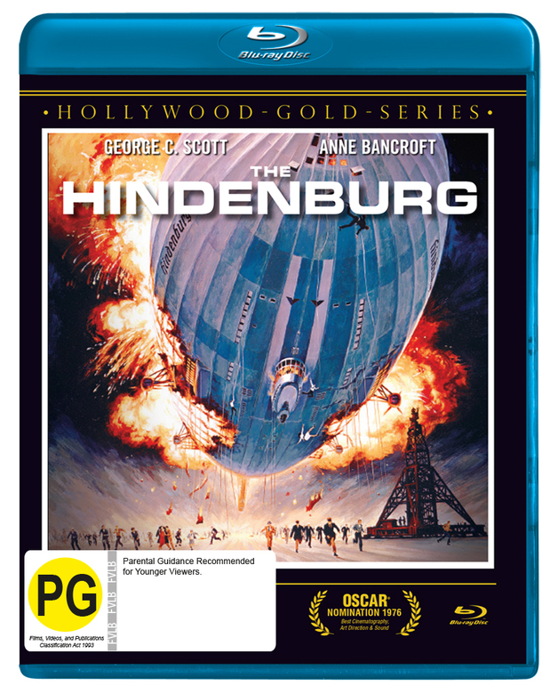 The Hindenburg on Blu-ray