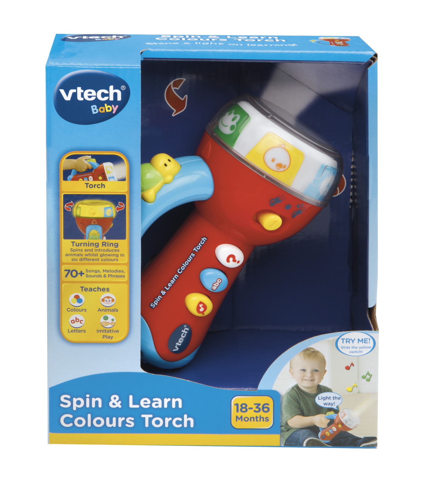 V-Tech: Spin & Learn - Colours Torch image