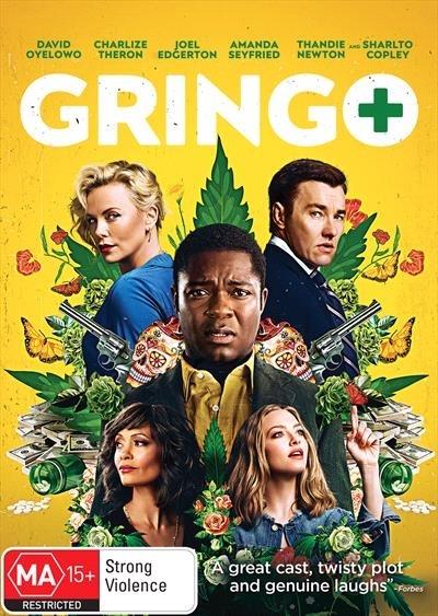 Gringo on DVD image