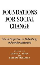 Foundations for Social Change