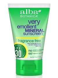 Alba Mineral Fragrance Free Sunscreen SPF 30 (113ml)