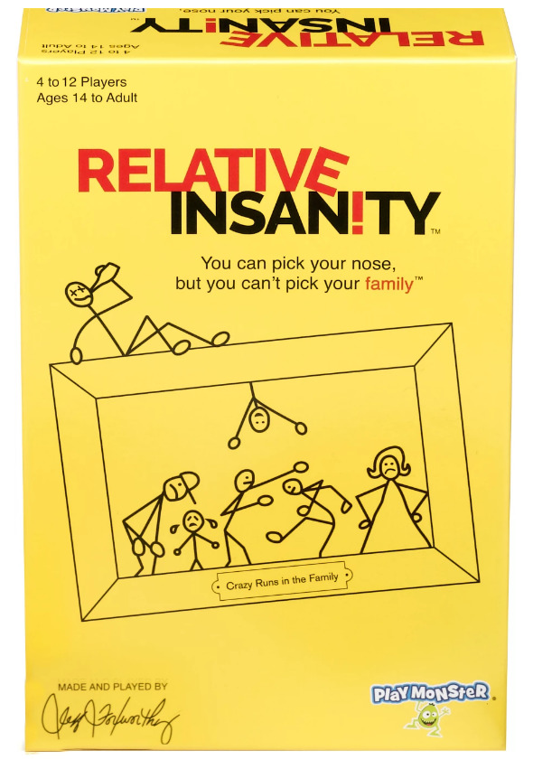 Relative Insanity - Party Game image