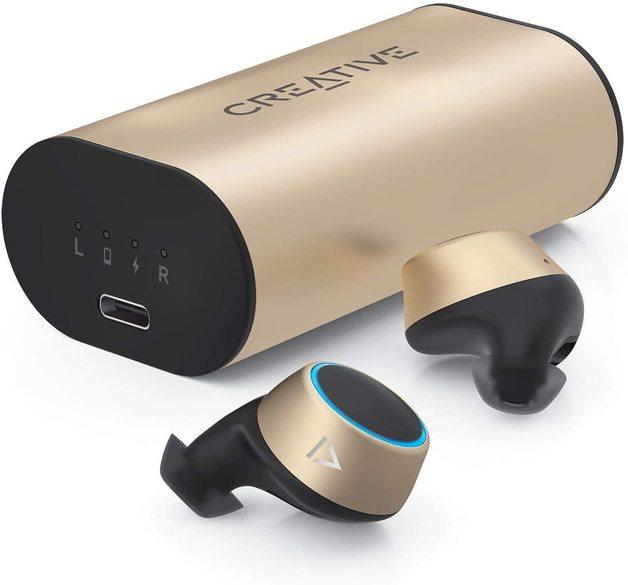 Creative Outlier Gold True-Wireless In-ear Headphone Gold