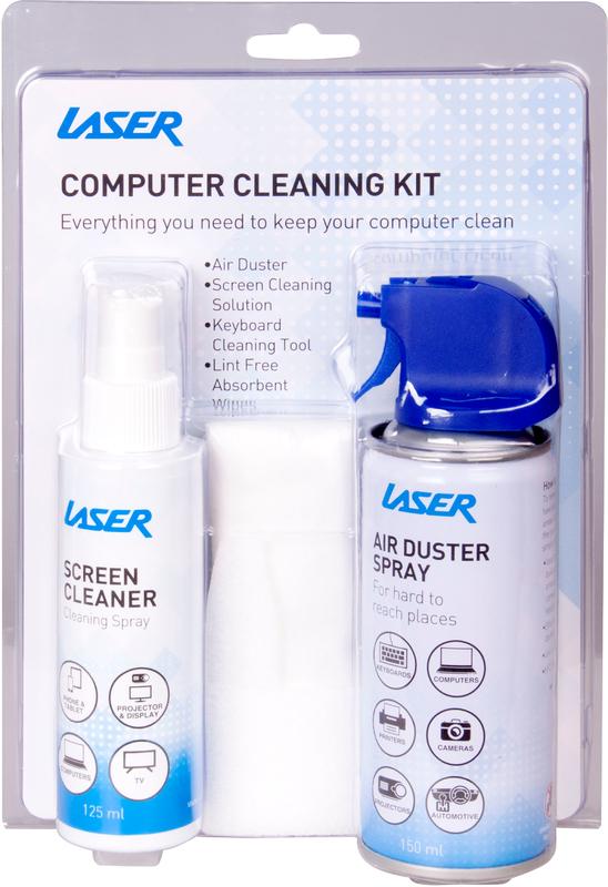Laser Clean Range Computer Cleaning Kit