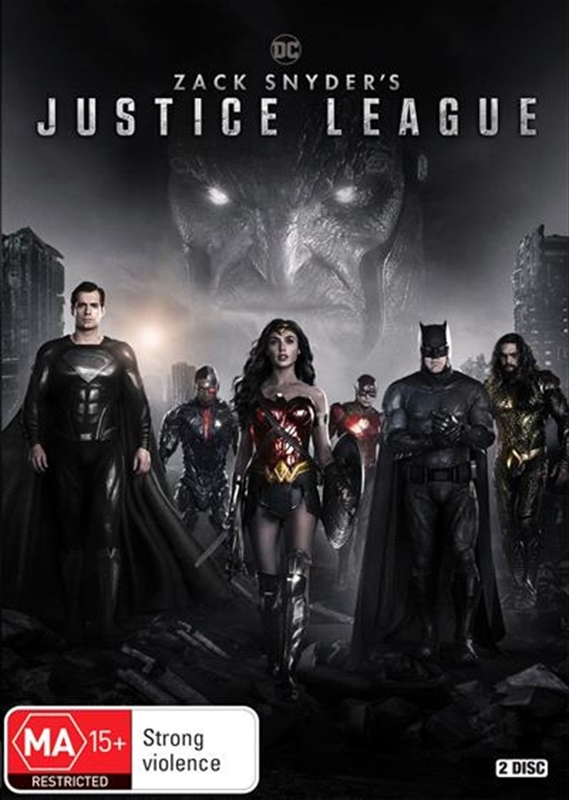 Zack Snyder's Justice League on DVD