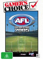AFL Premiership 2005 for PC Games