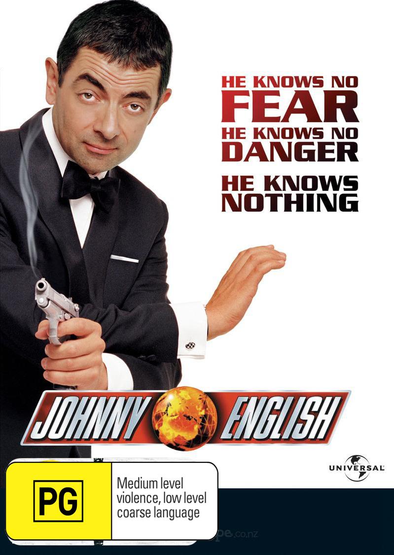 Johnny English on DVD image