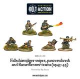 German Airborne - Fallschirmjager Weapons Teams