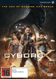 Cyborg X on DVD