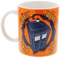 Doctor Who Wibbly Wobbly Timey Wimey Mug