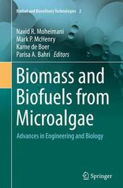Biomass and Biofuels from Microalgae image
