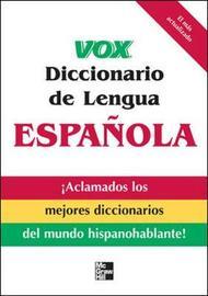 Vox Diccionario de Lengua Espanola by Vox