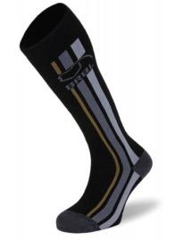 BRBL: Kamchatka Mens Black Ski Socks (XL)