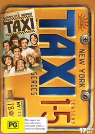 Taxi Complete Collection on DVD