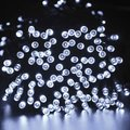 Solar String Lights - 200 LED Cool White Fairy Lights