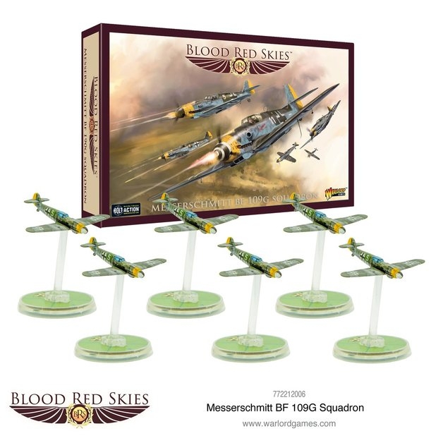 Blood Red Skies: BF109G Squadron