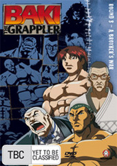 Baki The Grappler - Round 8: A Brother's War on DVD