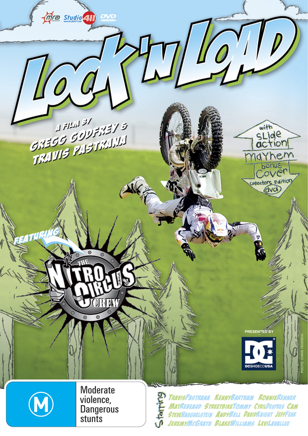 Lock 'N Load - The Nitro Circus Crew on DVD image
