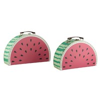 Decor Suitcase Set (Watermelon)