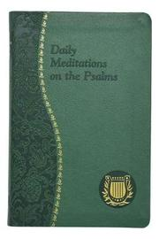 Daily Meditations on the Psalms by C Anthony Ziccardi image
