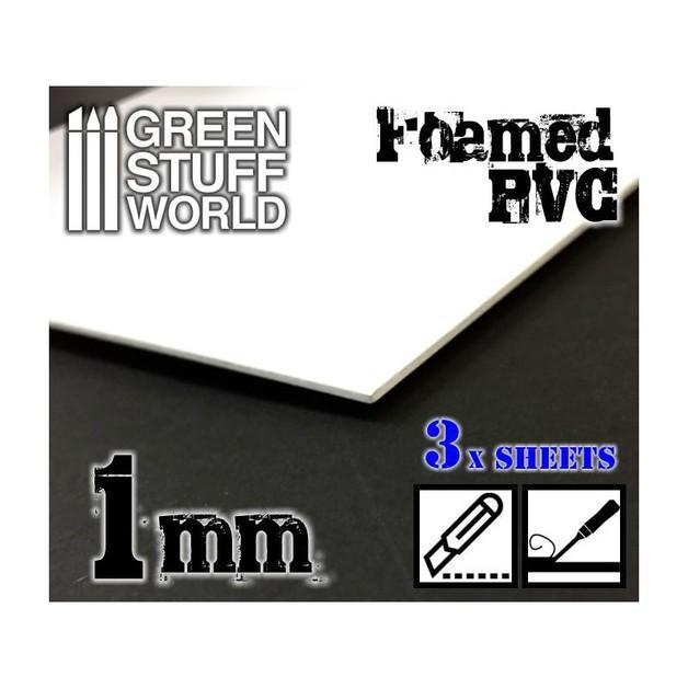 Green Stuff World Foamed PVC 1 mm