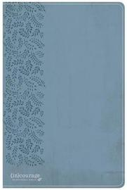 CSB (In)Courage Devotional Bible, Blue Leathertouch by Csb Bibles by Holman