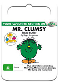 Mr Men & Little Miss: Mr Clumsy Head Butler on DVD image