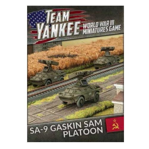 Flames of War: SA-9 Gaskin SAM Platoon